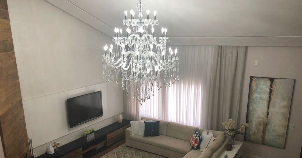 Descubra qual o melhor Lustre para sua sala de estar!