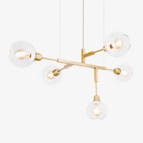 Lustre Cinque 70 Lamp 5 Lâmpadas-Goldenart