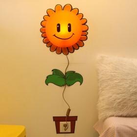 Plafon Infantil Girassol 1 Lâmpada