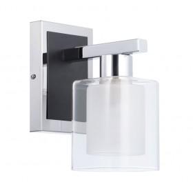 Arandela com Cúpula de Vidro 1 Lâmpada LU