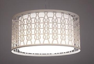 Pendente Corda Grande 4 Lâmpadas - Tom Luz Iluminação