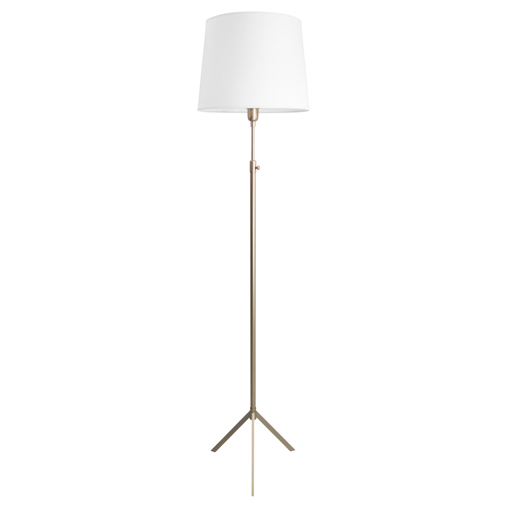 Luminária de Chão Tripé Telescópica 1 Lâmpada Goldenart