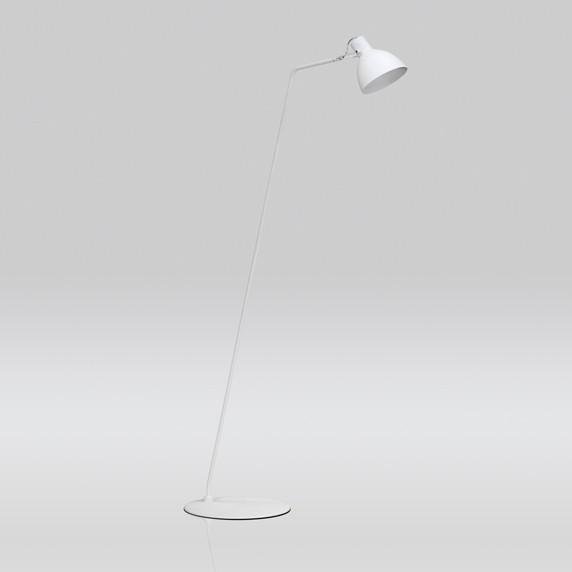 Luminária de Chão Seed Haste Fixa Inclinada 1 Lâmpada Goldenart
