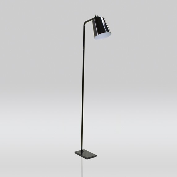 Luminária de Chão Brida Haste Fixa 1 Lâmpada Goldenart
