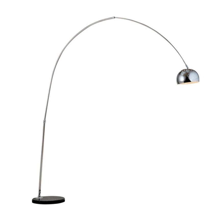 Luminária de Chão com Cúpula de Alumínio 1 Lâmpada Ravello
