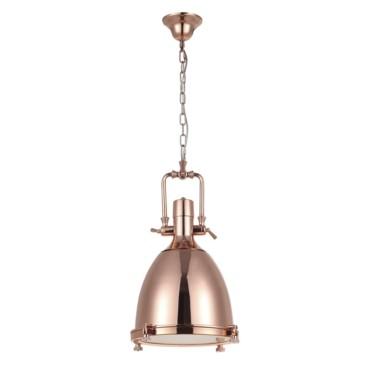 Pendente Kitchen Metal Bronze 1 Lâmpada +Luz Iluminação