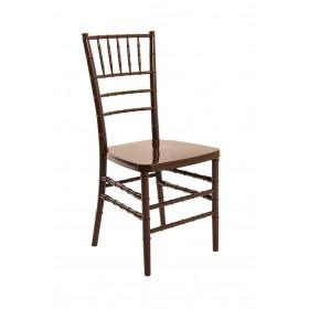 Cadeira Acrilica Tiffany Sem Almofada Chocolate