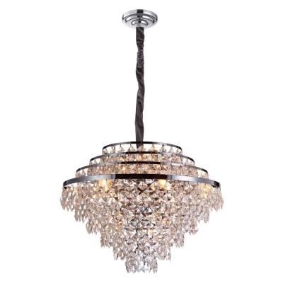 Lustre de Cristal Transparente Place 15 Lampadas - Bella