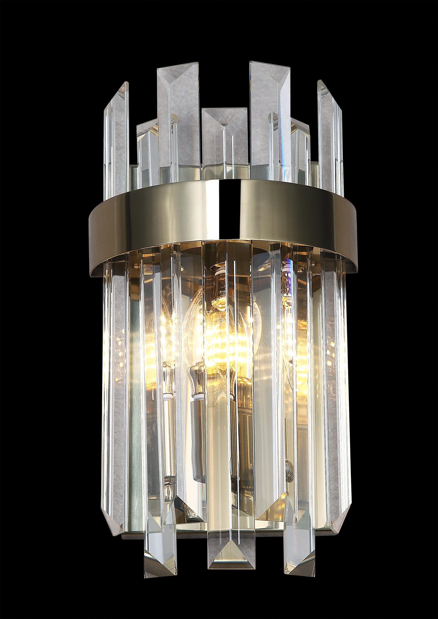 Arandela Cristal 2 Lâmpadas - Sindora