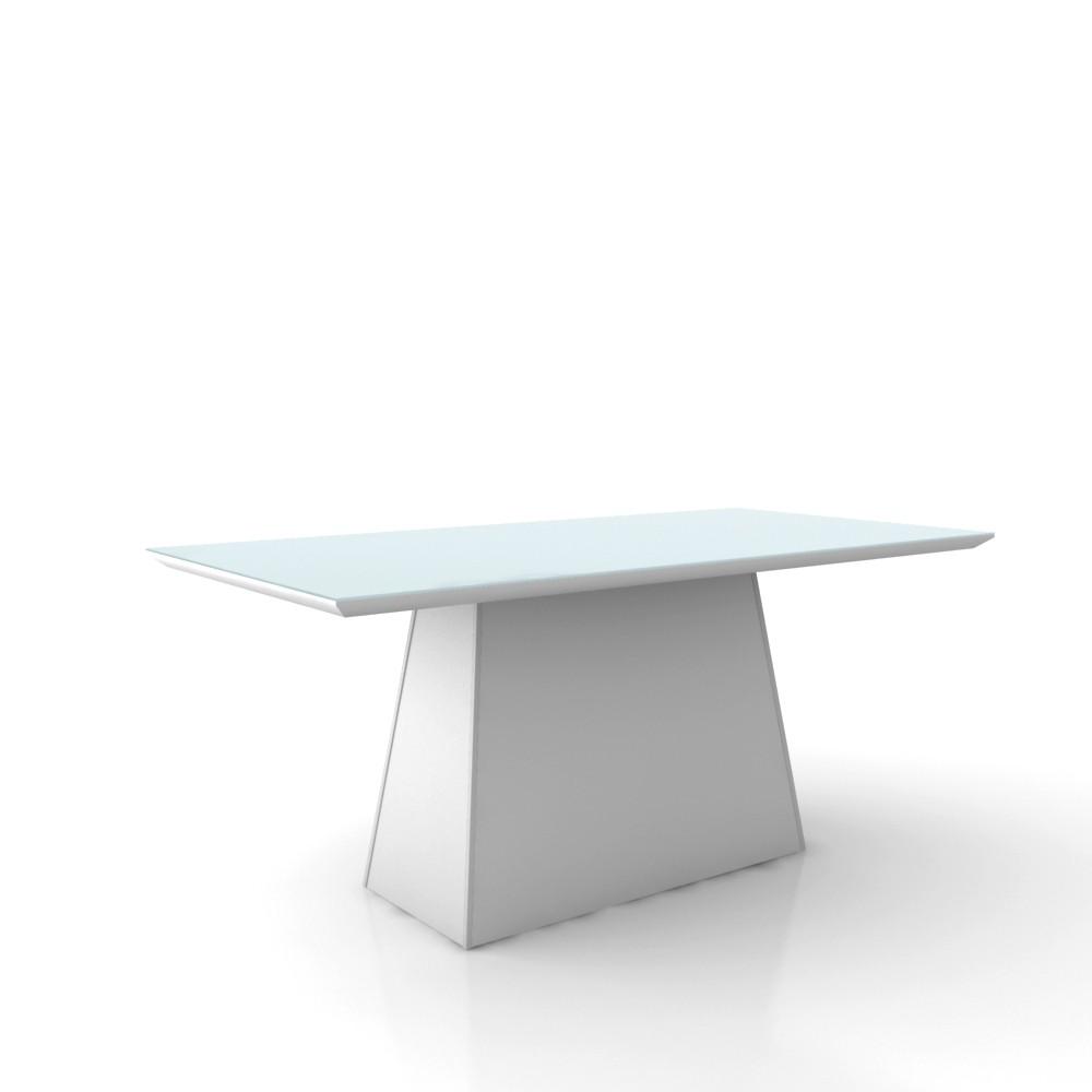 Mesa para Sala de Jantar MJ2129 - Ammo Mobili Branco