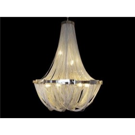 Lustre de Cristal Transparente Modelo Imperial 8 Lâmpadas - Frontier