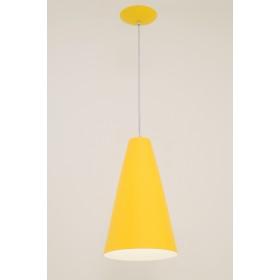 Pendente Madri 1 Lampada Amarelo - Auremar