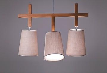 Pendente Mobile 3 Cupulas - Tom Luz Iluminação