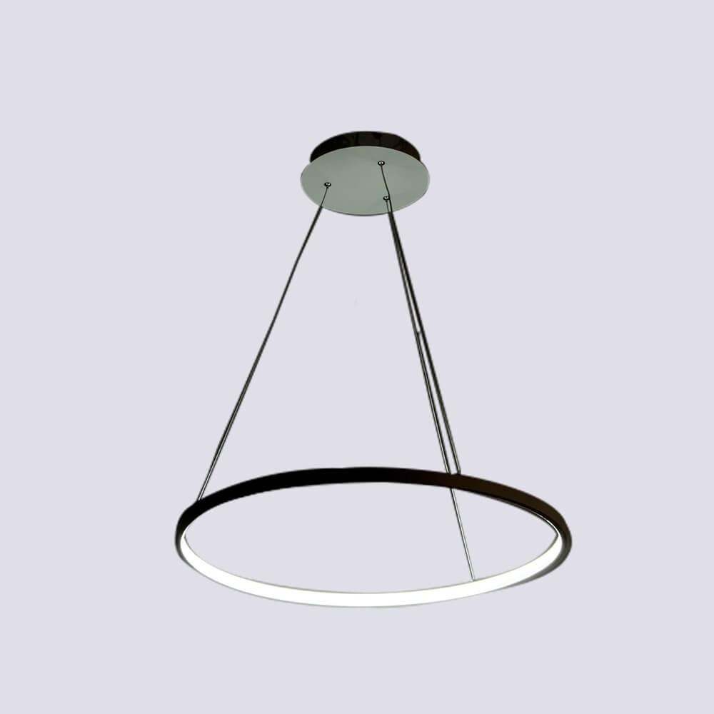 Pendente em Alumínio Branco LED 01 lâmpada AP I