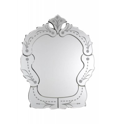 Espelho de Vidro Trabalhado Veneziano sem Moldura 14081