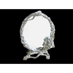 Espelho Oval moldura de Flor - Frontier