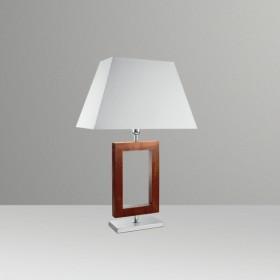 Abajur Retângulo 1 Lâmpada Goldenart