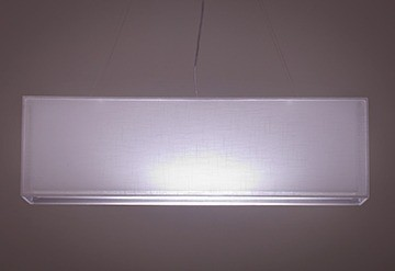Pendente Retangular Duplo 3 Lâmpadas - Tom Luz Iluminação