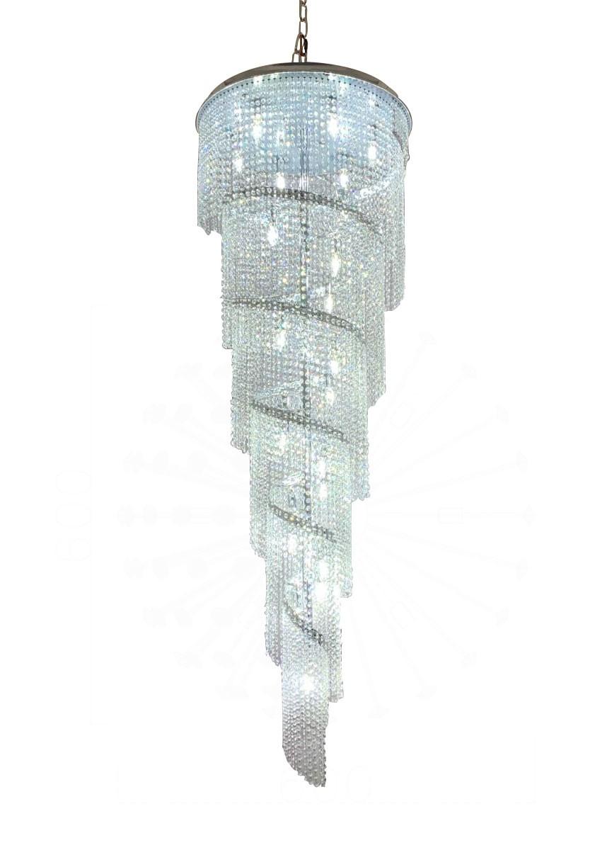 Lustre de Cristal Transparente 22 Lâmpadas ZAH