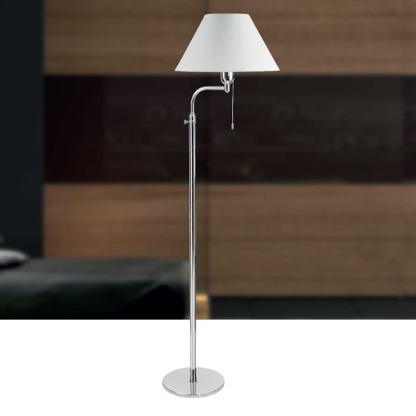Luminária de Chão Britner Estilo Minimalista 1 Lâmpada Goldenart