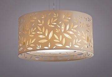 Pendente Folhas 3 - 2 lampadas - Tom Luz Iluminação