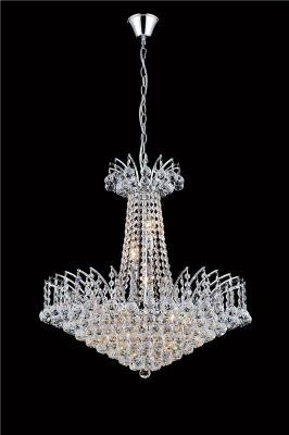 Lustre de Cristal Transparente Modelo Imperial 11 Lâmpadas - Frontier