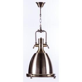 Pendente Industrial Vintage de Aluminio Dourado PL ll 1 Lâmpada
