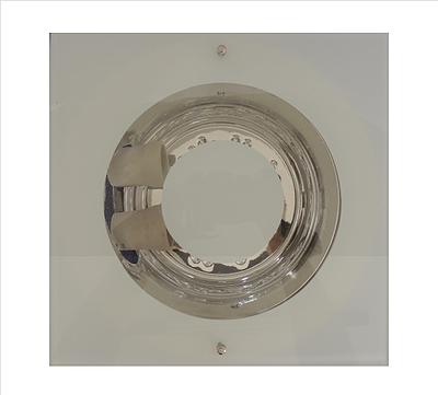 Lum. Embut. p/ Lamp. Elet. Quadrada Branco
