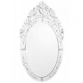 Espelho de Vidro Trabalhado sem Moldura 9554