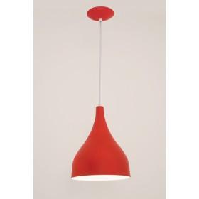 Pendente Ibiza Med 1 Lampada Vermelho - Auremar