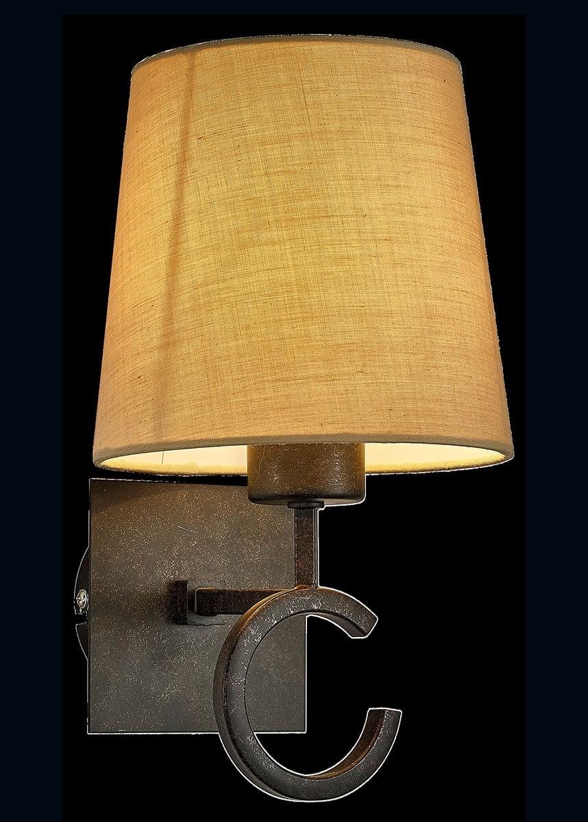Arandela de Metal Envelhecido Bege 1 lâmpada Argi - Mantra