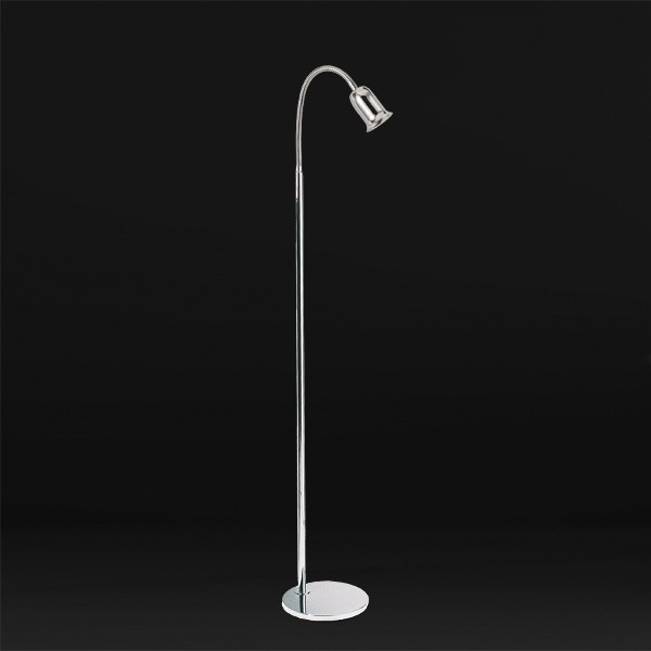 Luminária de Chão Brigitte Flexível 1 Lâmpada Goldenart