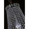 Lustre de Cristal Transparente 12 Lâmpadas FG Elizabeth