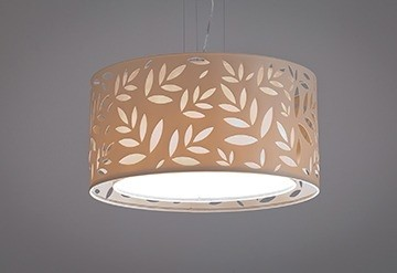 Pendente Folhas 2 Grande - 4 Lâmpadas - Tom Luz Iluminação