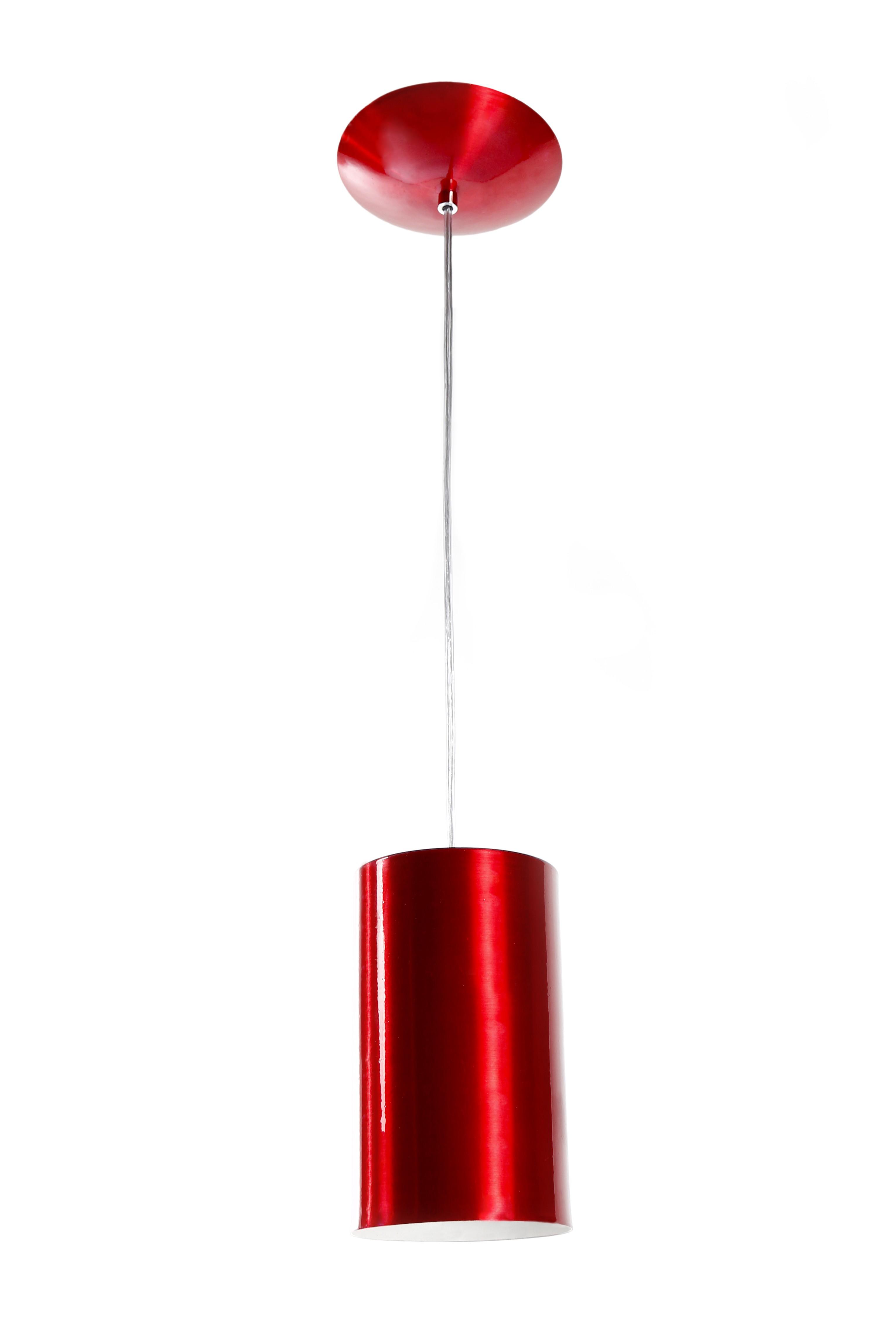 Pendente Cilindro Vermelho