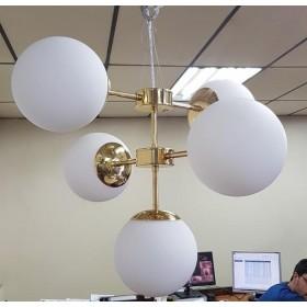 Lustre Balls 5 Lâmpadas-Goldenart