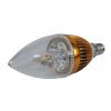 Lâmpada LED bocal E14 Dourada 4 Watts Arquitetizze