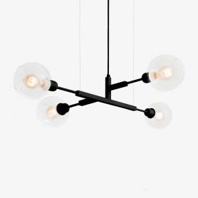 Lustre Quattro 70- Lamp 4 Lâmpadas-Goldenart