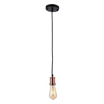 Pendente Thomas Edison de Metal Cobre 1 Lâmpada