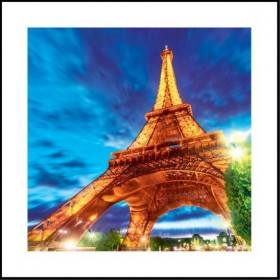 Quadro 3D Torre Eiffel - Universal Mix