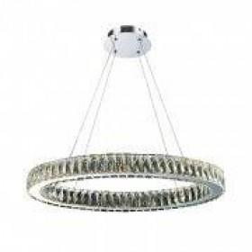 Pendente de Cristal Redondo10 Lâmpadas LED Embutido - Old Artisan