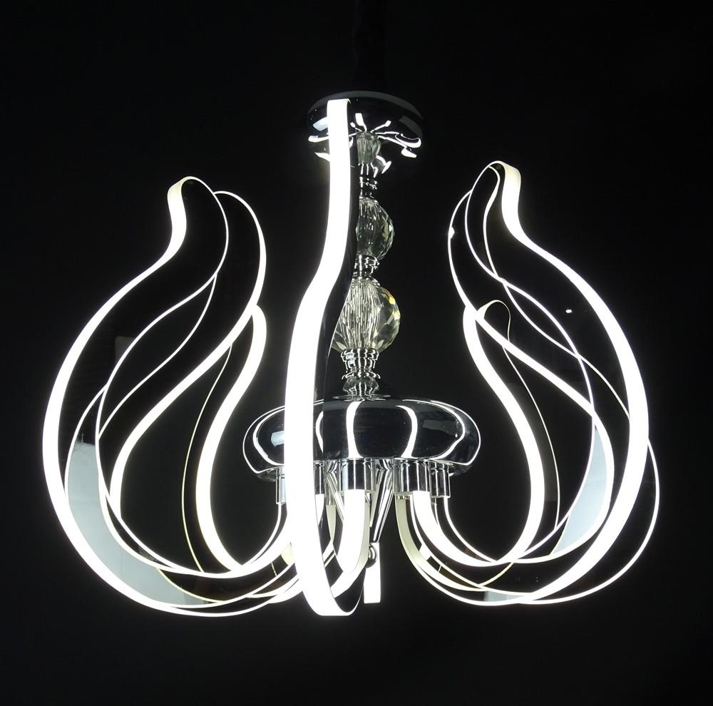 Lustre Classico 10 Lâmpadas Prata - Guardian