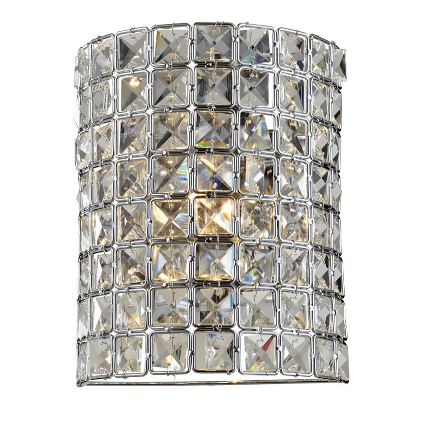 Arandela de Cristal Transparente 1 Lâmpada LX I
