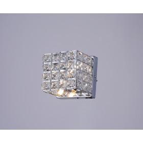 Arandela de Cristal LX lll Transparente 1 Lâmpada