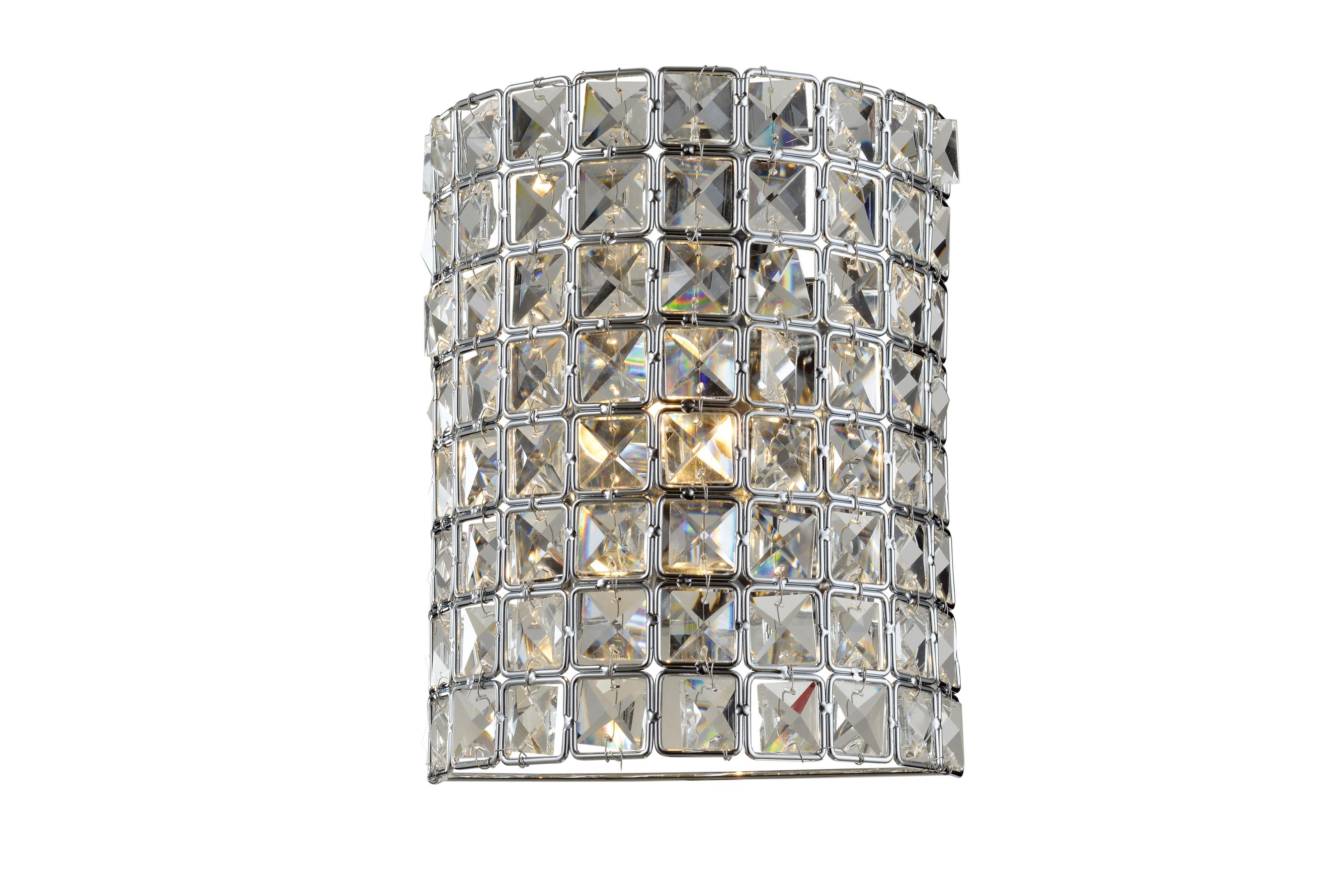 Arandela de Cristal LX I Transparente 1 Lâmpada
