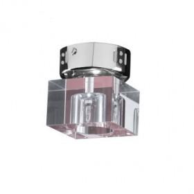 Plafon de cristal1 lâmpada aquarius Arquitetizze
