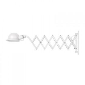 Pendente de Metal Branco 1 lâmpada Sanfon – Luciin
