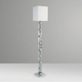 Luminária de Chão Ice Estilo Clássico 1 Lâmpada Goldenart