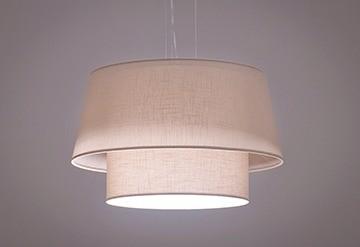 Pendente Duo Cone Medio 3 Lâmpadas - Tom Luz Iluminação
