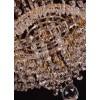 Lustre de Cristal Imperial Dourado 23 Lâmpadas FG Elizabeth